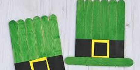 St Patrick's Day Crafts @ Chingford Library tickets