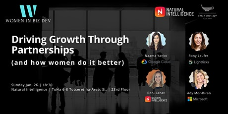 Women in Biz Dev #4 Meetup: Driving Growth Through Partnerships tickets