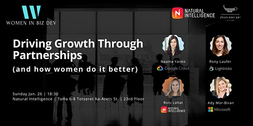 Women in Biz Dev #4 Meetup: Driving Growth Through Partnerships