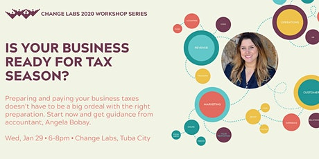 Is your business ready for tax season? tickets