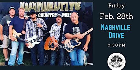 Nashville Drive at the Woodbury Brewing Company tickets