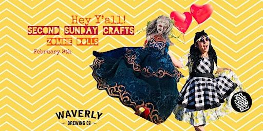 DIY Zombie Dolls - Second Sunday Crafts