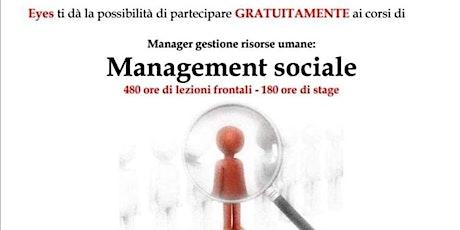 Corso in Manager Gestione Risorse Umane biglietti