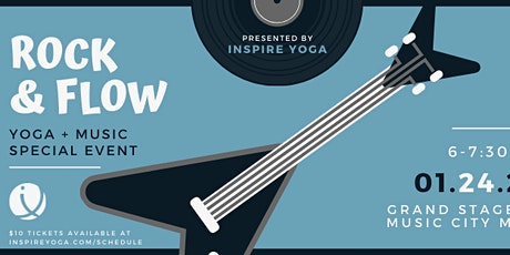 Rock & Flow Yoga from Inspire Yoga! tickets
