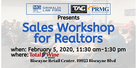 Realtor Sales Workshop tickets