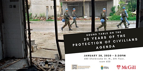 Round Table on the 20 Years of the Protection of Civilians Agenda tickets