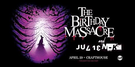 The Birthday Massacre and Julien-K tickets