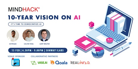 10-YEAR VISION ON AI | MindHack tickets