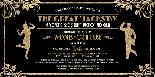 The Great 'Jacks'by - A Roaring '20's Silent Auction and Gala