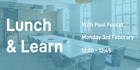 Lunch & Learn: Funding Avenues and the associated Risk & Reward tickets