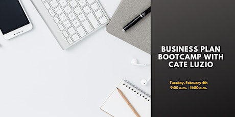 Business Plan Boot Camp with Cate Luzio tickets