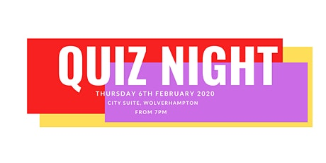 Come QUIZ with us! tickets