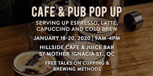 Cafe & Pub Coffee Pop Up