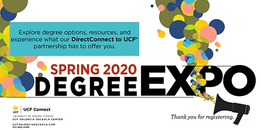 DirectConnect to UCF® Degree Expo