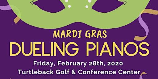 Mardi Gras - Dueling Pianos Fundraiser 2020