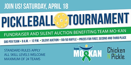 Chicken N Pickle Pickleball Tournament Benefitting Team MO-KAN tickets