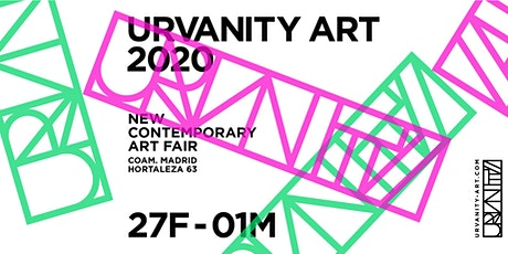 URVANITY - THE NEW CONTEMPORARY ART FAIR MADRID tickets
