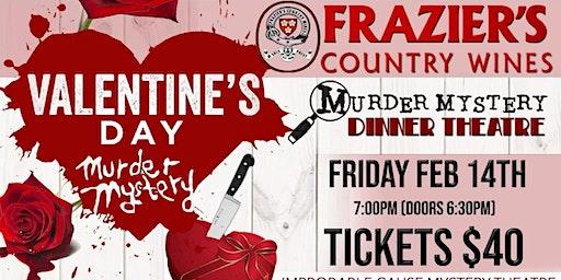 Valentine's Murder Mystery Dinner - Frazier's Country Wines