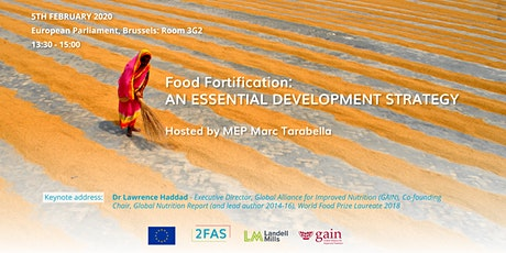 Panel discussion on Food Fortification at the European Parliament- 5Feb2020 tickets