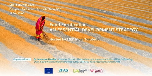 Panel discussion on Food Fortification at the European Parliament- 5Feb2020