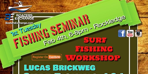 1st Tuesday Fishing Seminar at Boaters Exchange