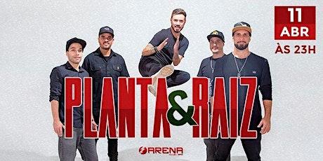 Planta & Raiz em Santos   Arena Club ingressos
