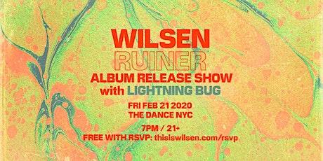 Wilsen 'Ruiner' Album Release Show with Lightning Bug tickets