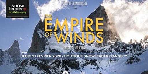 Projection Empire of Winds avec Arc'Teryx à Annecy