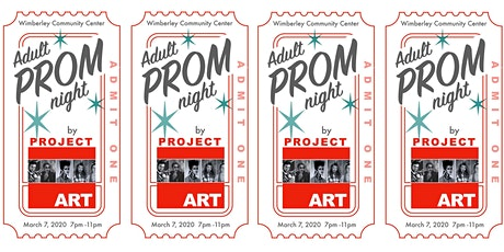 Adult Prom Night  Hosted by projectART tickets