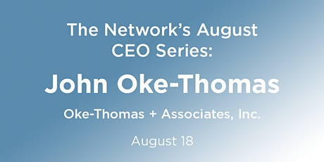 CEO Series: John Oke-Thomas tickets