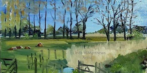 Painting with Acrylics - Linda Matthews