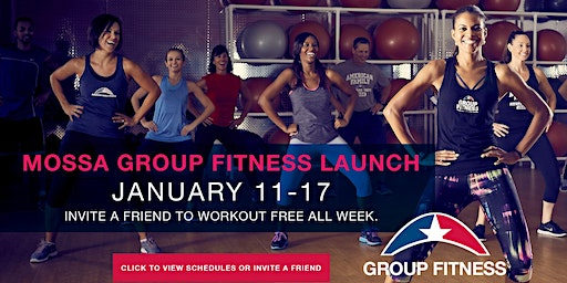 MOSSA Group Fitness Launch! - Free Event