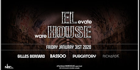 ELevate wareHOUSE Jan 31st tickets