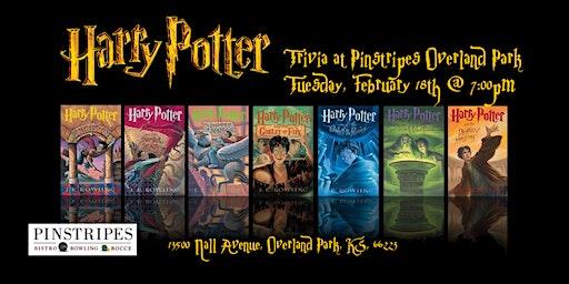 Harry Potter Books Trivia at Pinstripes Overland Park