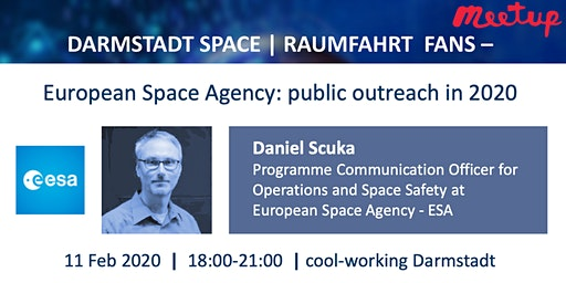 Darmstadt Space | Raumfahrt - European Space Agency: public outreach in 2020