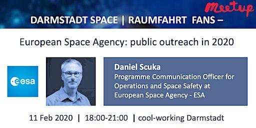 Darmstadt Space | Raumfahrt - European Space Agency: public outreach in 2020