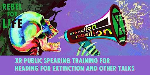 Train the Speaker: Heading for Extinction speaker training