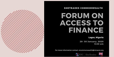 SheTrades Commonwealth Forum on Access to Finance tickets