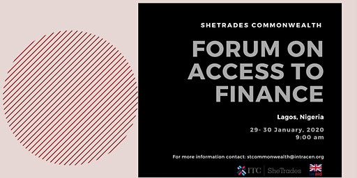 SheTrades Commonwealth Forum on Access to Finance