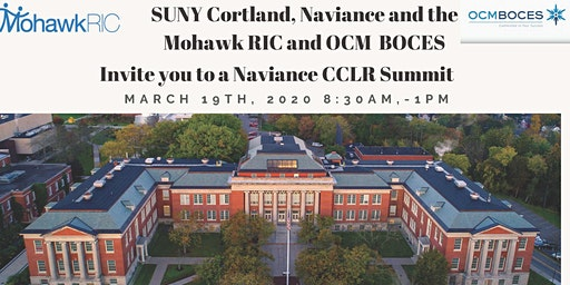 Naviance College,Career and Life Readiness Summit @ SUNY Cortland