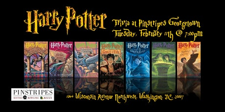Harry Potter Books Trivia at Pinstripes Georgetown tickets