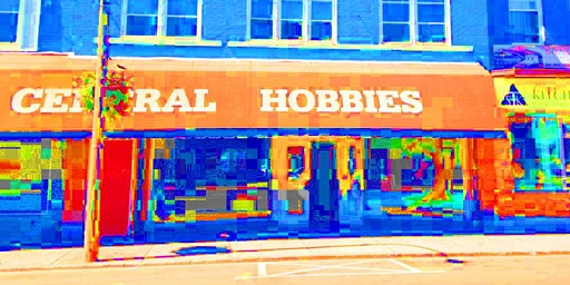 Art Classes at the Hobby Shop!