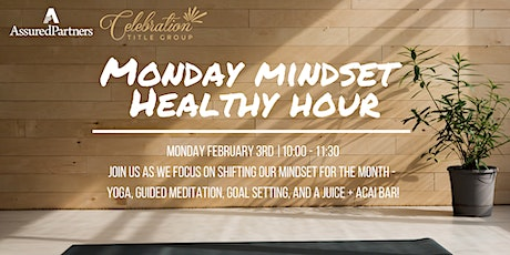 Monday Mindset Healthy Hour tickets