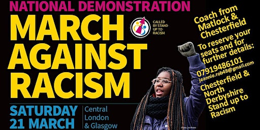 North Derbyshire Coach @ March Against Racism