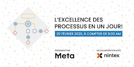 L'Excellence des Processus en un Jour, une collaboration Nintex billets