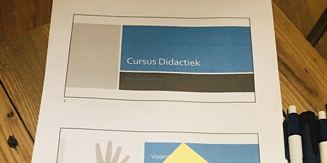 Cursus Didaktiek: Wat heb je nodig als trainer? tickets