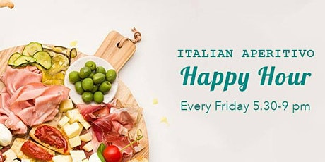 Italian Aperitivo - All you can eat £10 tickets
