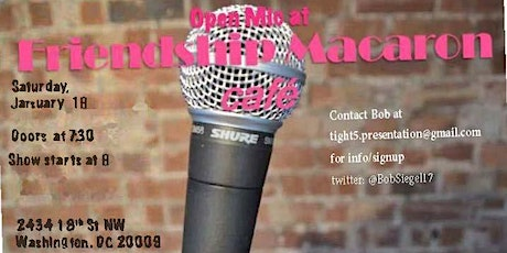 Cafe Comedy - Open Mic tickets
