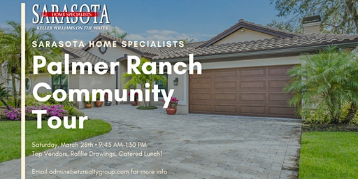 Palmer Ranch Community Tour!