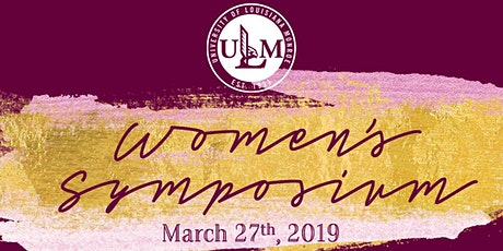 2020 ULM Women's Symposium tickets